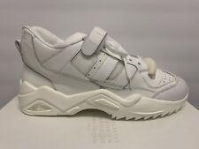$895 Maison Margiela White Distressed Retro Fit Sneakers US 13