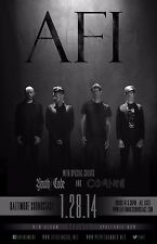 AFI / YOUTH CODE / COMING 2013 BALTIMORE CONCERT TOUR POSTER - Alt Rock Music