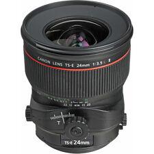 New Canon TS-E 24mm f/3.5 L II Lens