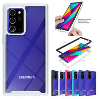 For Samsung Galaxy Note 20 Ultra S20 FE 5G Hybrid Silicone Shockproof Case Cover