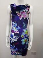 New Ex L@psy Ladies Purple VELVET bodycon Dress Party Cocktail Dress