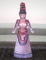 Minoan Art Snake Goddess - Palace of Knossos- Replica Figure-Symbol of Fertility