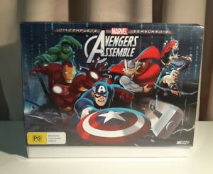 AVENGERS ASSEMBLY-THE  COMPLETE  SEASONS  1 - 4  #16 DISC  SET BRAND NEW SEALED!