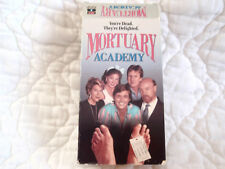 MORTUARY ACADEMY VHS PAUL BARTEL MARY WORONOV MORTICIAN 80'S COMEDY NECROPHILIA