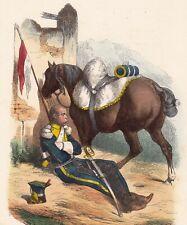 Lanciers Chevau Légers Pologne Napoléon Bonaparte Cavalerie Poland 1840
