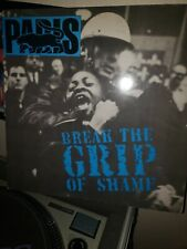 Paris BREAK THE GRIP OF SHAME TommY BoY RecordS TB 950  VG+ DJ 90'S RAP HIP HOP