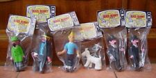 Laya Spain Off. Hergé TINTIN SNOWY THE PROFESSOR HADDOCK Squeeze Figure Lot 1978
