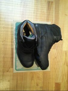 Dunham  Steel Toe Work Boot Black Leather Size 8D ASTM