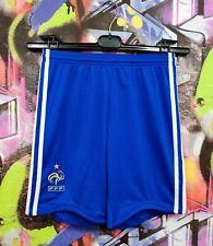 France National Football Team Soccer Training Shorts Adidas 2008 Youth size M