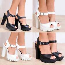 Unbranded Party Synthetic Leather Block Heels for Women