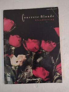 Concrete Blonde bloodletting Songbook. 1991 Cherry Lane Music Large PB. Used