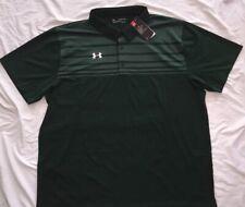 NEW! UNDER ARMOUR UA Victor Polo Shirt Heat Gear Mens Big 5X 5XL Green NWT!