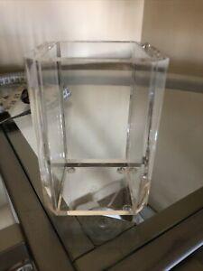 Heavy Clear Acrylic Bathroom Tumbler