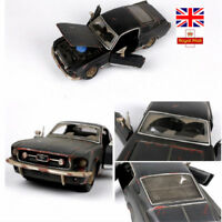 1:24 1967 FORD Mustang GT Model Alloy Cars Old Vintage Diecast Toys Xmas Gifts
