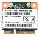 WPEA-152GN(BT) 802.11b/g/n Mini Card PCIe: WLAN 150Mbps Atheros AR3012 + AR9485