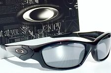 NEW* Oakley STRAIGHT JACKET BLACK w BLACK IRIDIUM Lens Sunglass 9038-0359