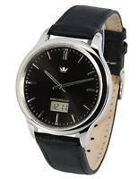 Elegante Herren Funkarmbanduhr (deutsches Funkwerk) Armbanduhr Funkuhr 964.4003