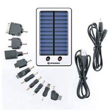 Cargador solar verdes para teléfonos móviles y PDAs