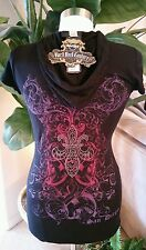 Hard Rock Couture Black T Shirt Hoodie San Diego S