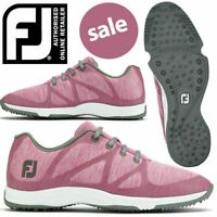 FootJoy FJ Leisure Pink/Grey Spikeless Women's Golf Shoes - NEW! *REDUCED!*