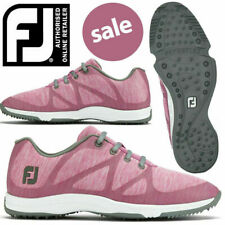 Ladies FootJoy Leisure Golf Shoes Pink Size Uk6 Wide Style 92906k