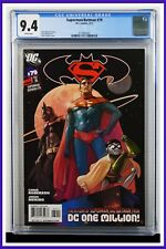 Superman Batman #79 CGC Graded 9.4 DC February 2011 White Pages Comic Book.