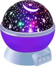 Rotating Star Lamp Led Night light Projector Sky Moon Kids Baby Starry Gift New