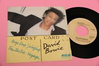 "DAVID BOWIE 7"" BOYS KEEP ORIG ITALY 1979 MINT UNPLAYED MAI SUONATO !!!"