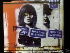 "PUNK CHIC ""DJ SPINNIN'"" RARE ORIGINAL 2001 UK CD SINGLE"