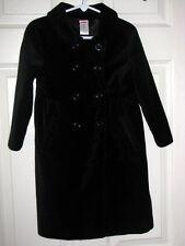 Gymboree HOLIDAY FRIENDS Black Dressy Winter Coat 4 EUC