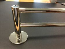 SPEC Double Towel Rail Chrome - 800mm