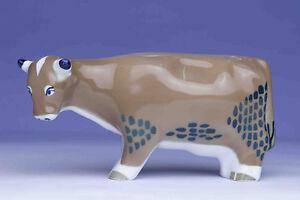 Sargadelos Porcelain Brown Cow Figurine - NEW