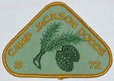 Camp Jackson Dodds (Canada) 1972 Pocket Patch