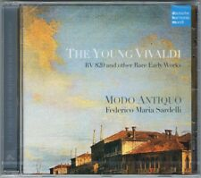 The Young Vivaldi Sonata concerto rv.52 552a 779 813 820 Federico Maria Sardelli