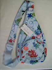 New ListingVera Bradley Lighten Up Essential Compact Sling Belt Bag Anchors Aweigh Nautical