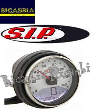 7503 - CONTACHILOMETRI SIP 2.0 DIGITALE FONDO BIANCO VESPA 50 125 PK S