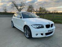 2011 BMW 118d Sport Special Performance Edition White FBMWSH 79k