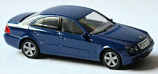 Mercedes Benz E Clase W211 Sedán 2002-06 Azul 1:87 Herpa 023177