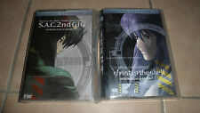 2 COFFRETS 7 DVD - Ghost in the shell - saison 1 et 2 - intégrale neuf blister