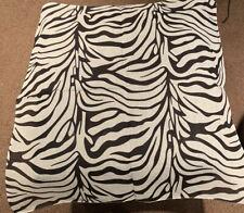 "22""x22"" Zebra Animal Print Pattern 100% Cotton Bandana"