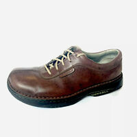 Merrell Realm Men's Brown Leather Shoes Lace Up Size 9.5