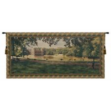 "Princess Castle Belgian Tapestry Wall Hanging H 30"" x W 67"""