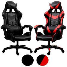 POKAR Gaming-Sportstuhl Racing Stuhl für Gamer, Chefsessel für PC-Spielern