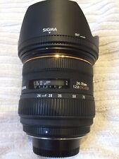 Sigma EX 24-70mm F2.8 HSM Lente per DG Nikon