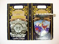 Disney DISNEYLAND Pin of the Month CRESTS of the KINGDOM IT'S a SMALL World