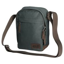 Jack Wolfskin Mens 2018 Heathrow Shoulder Bag - Greenish Grey