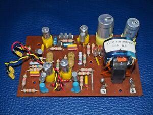 Phono Vorstufe RIAA Philips AG9021 Germanium Transistoren einbaufertig