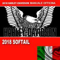 ☑️ SOFTAIL 2018 2019 2020 HARLEY DAVIDSON MANUALE OFFICINA IN ITALIANO HD RIPARA
