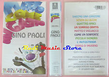 VHS GINO PAOLI Matto come un gatto 60 MINUTI WARNER SIGILLATA cd lp dvd mc(VM8)