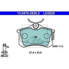 ATE Ceramic AUDI A1 (8X1 8XF)  AUDI A1 Sportback (8XA 8XK)  AUDI A3 (8L1)  AUDI